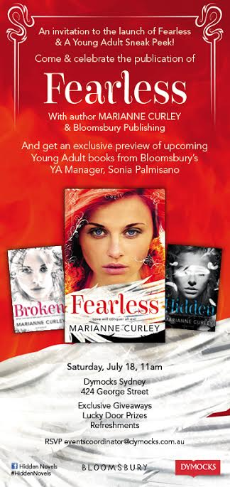 Invitation to FEARLESS Launch