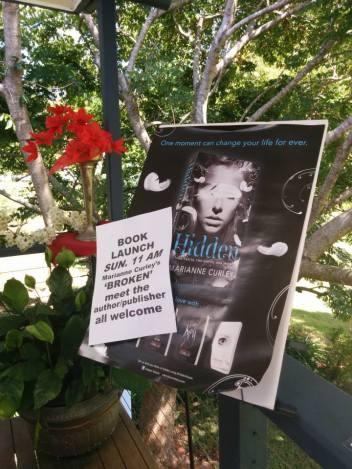 Broken Book Launch Poster