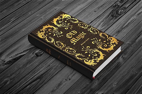 Old Magic Cover designed by Jessica Castillo
