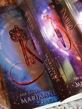 The new covers for the Guardians of Time Series.